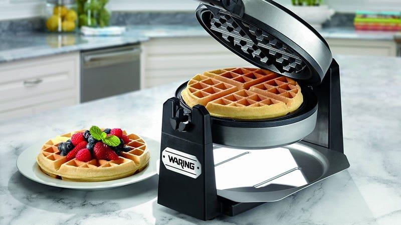 Waring Pro Belgian Waffle Maker, $37 with code WAFFLE20
