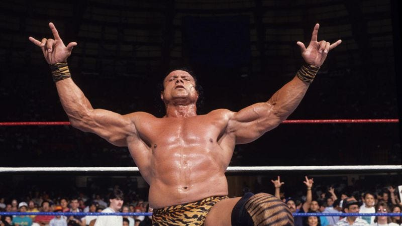 "Jimmy ""Superfly"" Snuka. (Photo: WWE)"