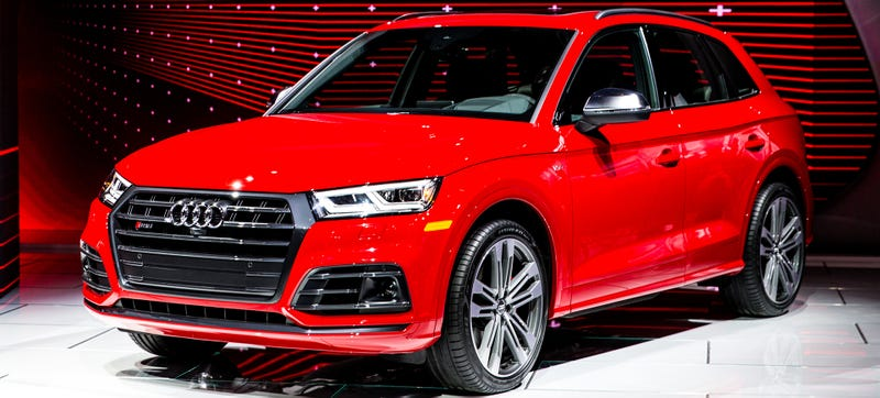 the 354 horsepower 2018 audi sq5 is here to ensure the r8 39 s existence. Black Bedroom Furniture Sets. Home Design Ideas