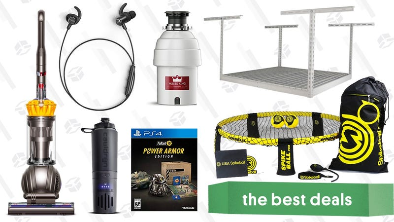 Illustration for article titled Friday's Best Deals: $150 Dyson Vacuum, Spikeball, Reader-Favorite Headphones, and More