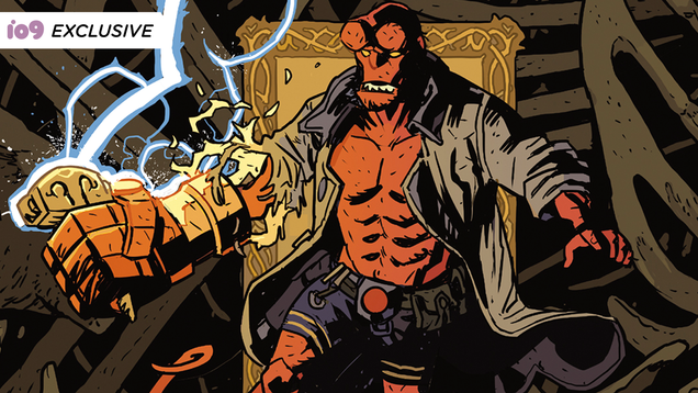 A Classic Hellboy Novel Is Becoming a Comic