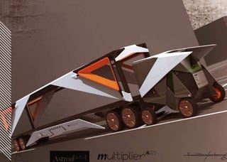 "Illustration for article titled ""Multiplier"" Mobile Parking Garage Is A Brilliant Idea"