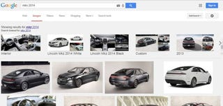 Illustration for article titled Step 1 for Lincoln: Make Sure Google Knows Your Cars Exist