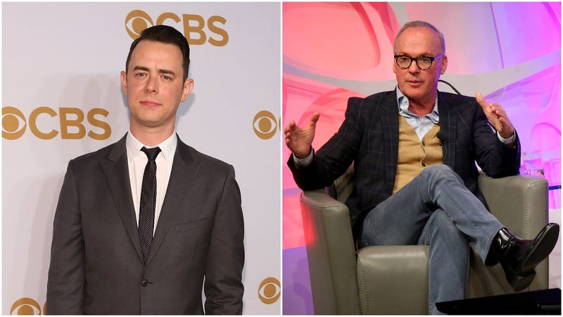 Illustration for article titled Colin Hanks really wants Michael Keaton to be his dad
