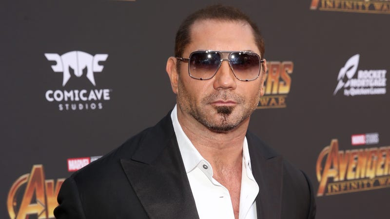 Illustration for article titled Dave Bautista now says he'll quit Guardians Of The Galaxy 3 if James Gunn's script isn't used