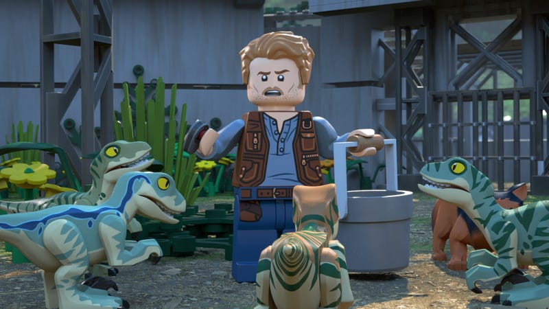How did Owen Grady get to Jurassic World? A new Lego TV show may answer that question.