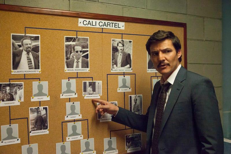 Pedro Pascal as Javier Peña (Photo: Juan Pablo Gutierrez/Netflix)