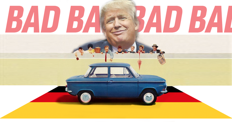 Illustration for article titled The 'Very Bad' Germans Export A Ton Of American-Built Cars