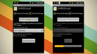 Illustration for article titled SHREDroid Securely Clears Deleted Data on Your Android Phone