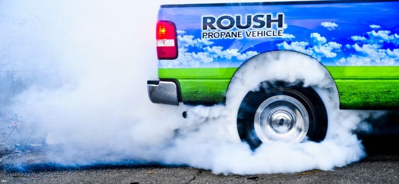 Illustration for article titled ROUSH Propane-Powered F-150: First Drive