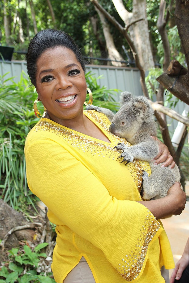 Illustration for article titled Say G'Day To Oprah & Her Mate