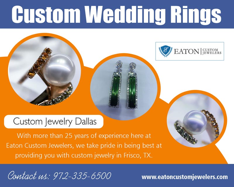 Illustration for article titled Custom Wedding rings