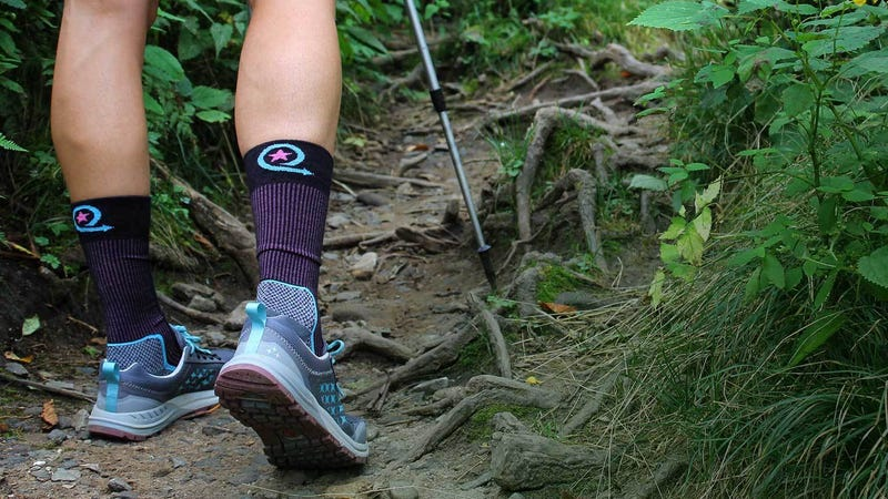 Illustration for article titled Five Hiking Socks That Will Keep You On the Trail Longer