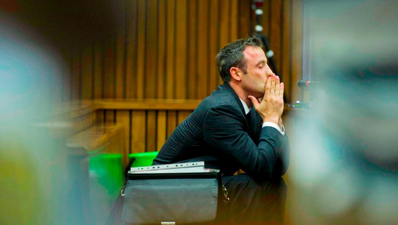 Illustration for article titled Oscar Pistorius's Ex Tweets About His Lies As He Testifies