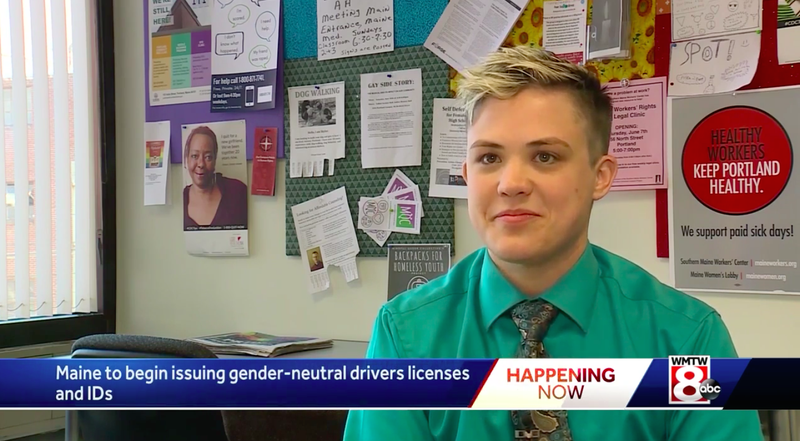 Illustration for article titled Maine Will Now Offer a Nonbinary Gender Option on Driver's Licenses