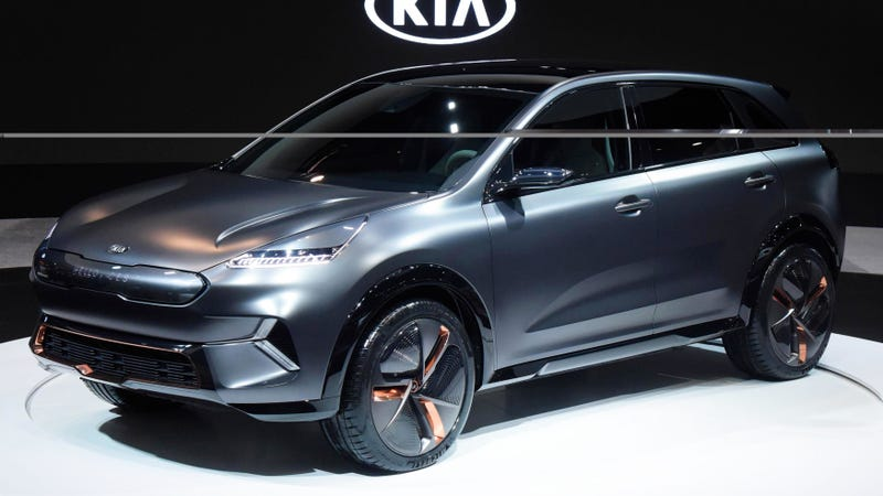 Ilration For Article Led Surprise The Kia Niro Ev Concept Is A 238 Mile