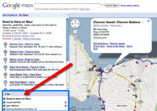 Illustration for article titled Google Maps Adds Multiple Search Function