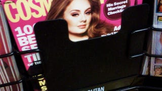 Illustration for article titled Did A Grocery Store Conceal Adele's Cosmo Cleavage?