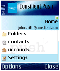 Illustration for article titled Push e-mail to your phone with Consilient