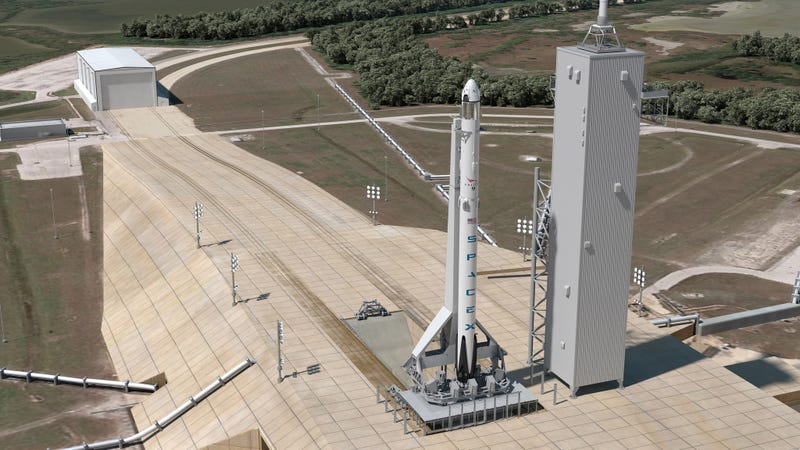 Illustration for article titled SpaceX Wants to Land a Rocket at Cape Canaveral