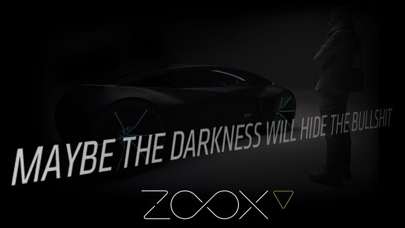 Illustration for article titled Will Zoox Show An Autonomous Car At The LA Show Or A Big Load Of Crap?