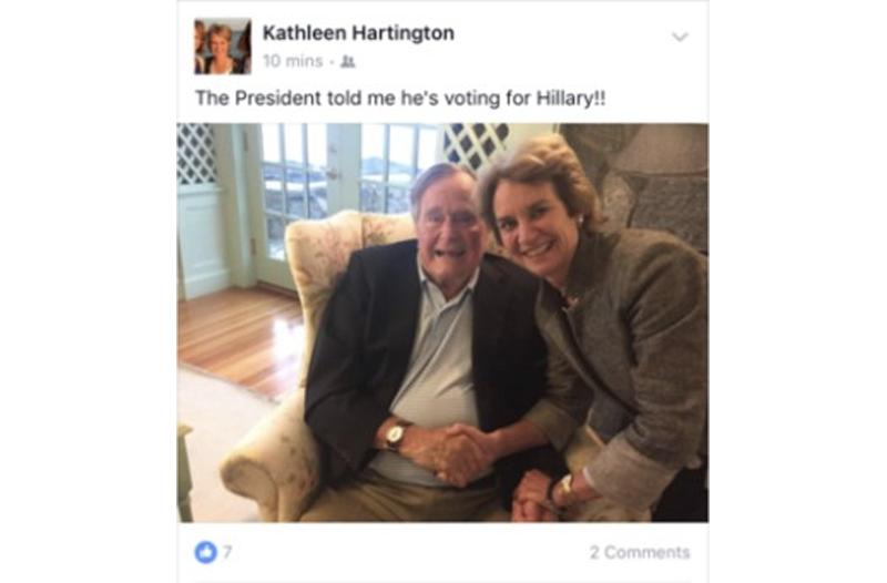Photo: CNN/Facebook/Kathleen Kennedy Townsend