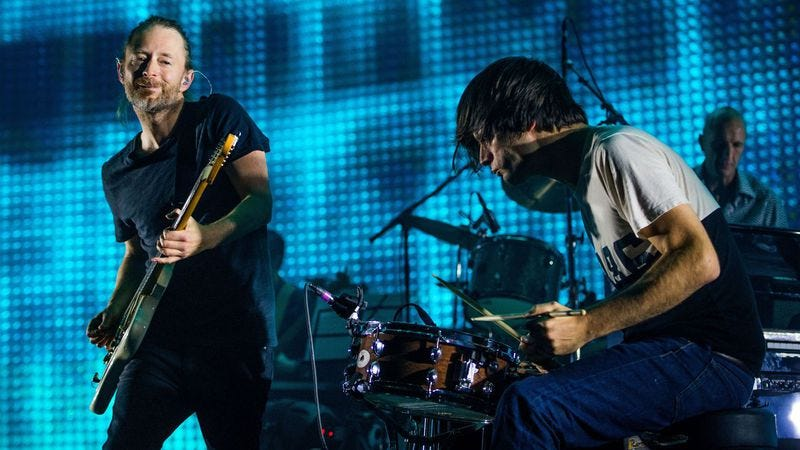Radiohead (Photo: Getty Images)