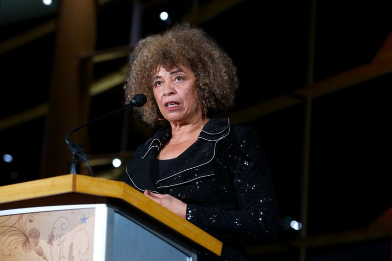 Angela Davis speaks at The 2013 Peace Ball: Voices of Hope And Resistance at Arena Stage on January 20, 2013 in Washington, DC.