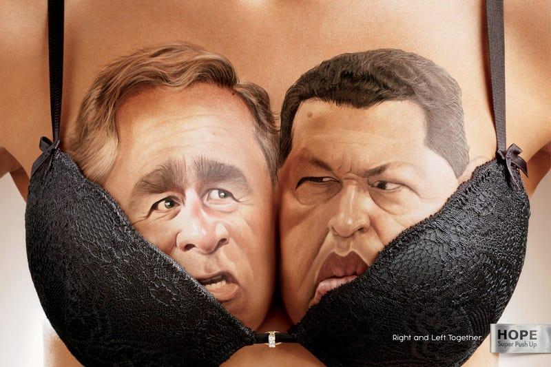 Illustration for article titled Hát nem aranyosak? Jobb- és baloldali politikusok szorosan összebújva