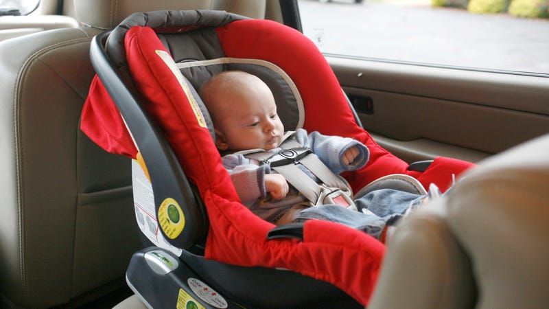 Illustration for article titled Stop Letting Your Baby Sleep in a Car Seat Outside the Car
