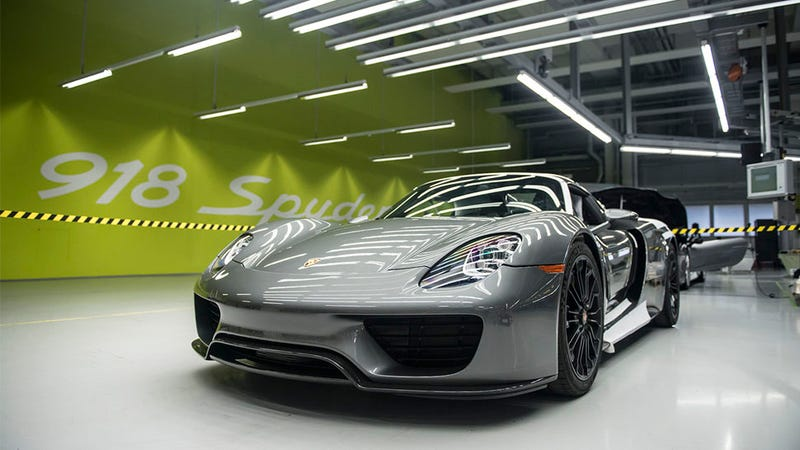 Illustration for article titled 918 Spyder: así se fabrica el híbrido más avanzado de Porsche