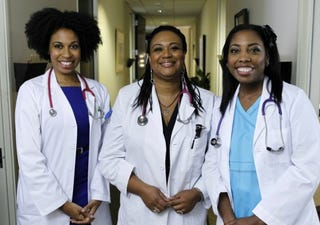 Black female doctorsDoctor G Twitter