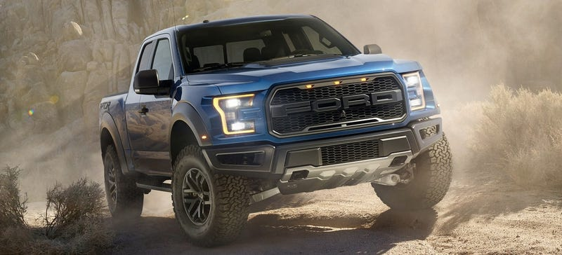 Illustration for article titled Forza 6 Has Power And Weight Specs For The 2017 Ford Raptor