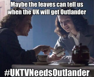 Illustration for article titled Is the UK Missing Out on Outlander Because of the Scottish Referendum?