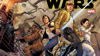 Illustration for article titled This Star Wars #1 cover basically has all the Star Wars you'll ever need