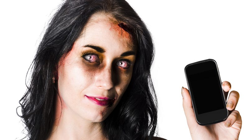 Illustration for article titled Your Smartphone Is Turning You Into an Ugly Jowl-Monster