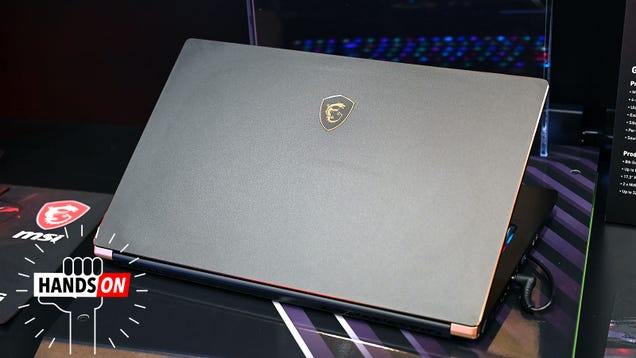 MSI s Latest Laptops Are Smaller, Sturdier, and Some Even Vibrate