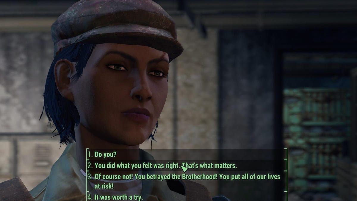Fallout 4's 'Full Dialogue' Mod Makes The Game Way Better