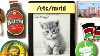 Use an Old Kindle to Share Messages on the Fridge Electronically