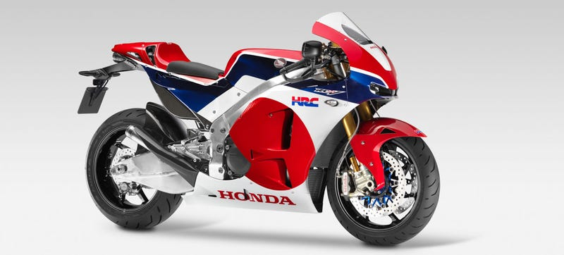 Illustration for article titled ​2015 Honda RC213V-S: It Really Is A MotoGP Bike With A License Plate