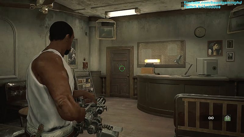 A New Mod Adds CJ And Big Smoke From GTA: San Andreas Into Resident Evil 2