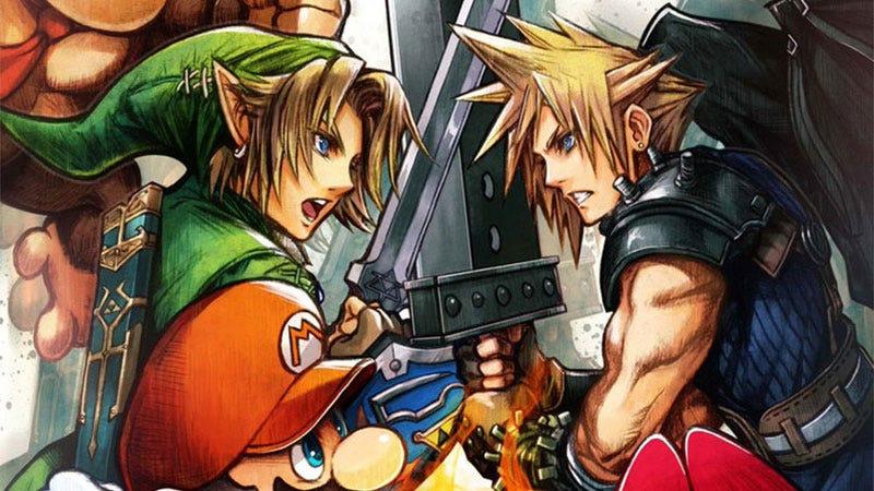 Illustration for article titled Tetsuya Nomura vs Smash Bros.