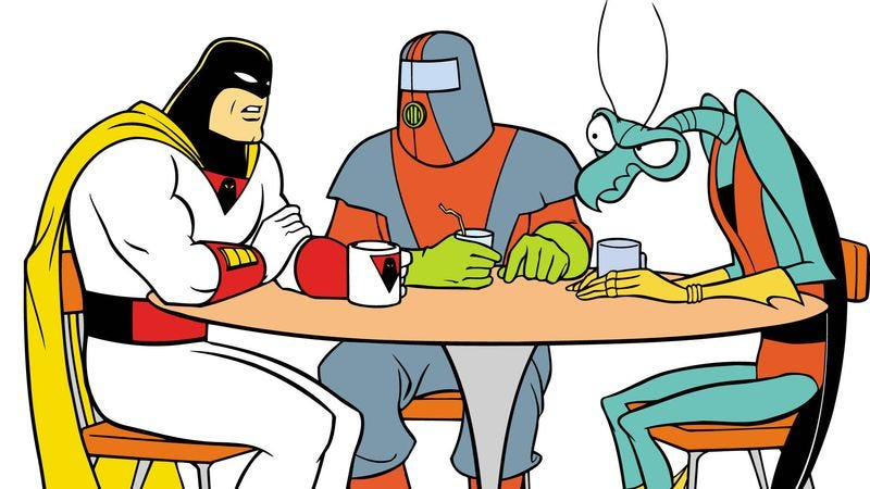 Illustration for article titled Where to start with the late-night absurdity of Space Ghost Coast To Ghost