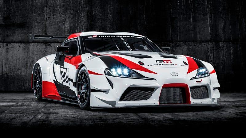 The Toyota GR Supra Racing Concept.
