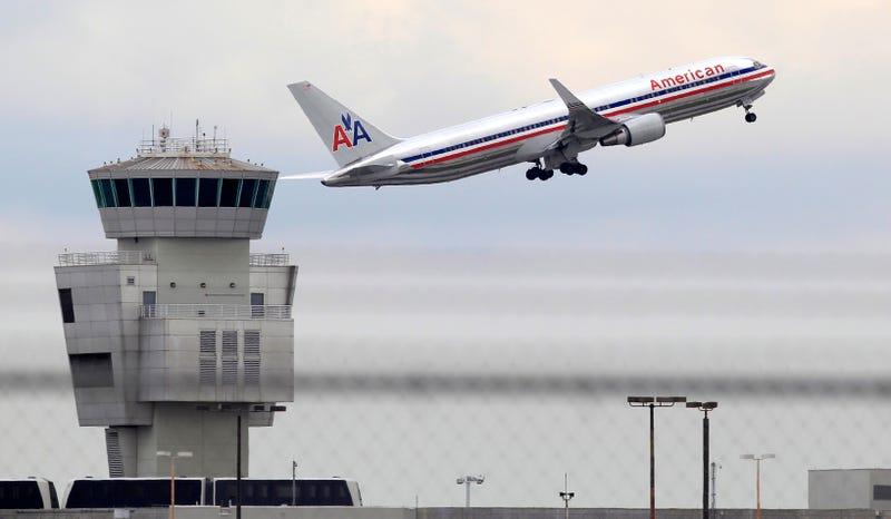 American Airlines. AP