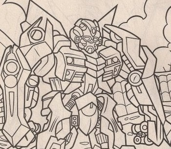 Illustration for article titled Color In The Plot Details For Transformers 2