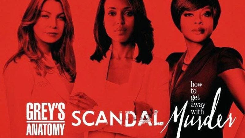 Illustration for article titled ABC renews its love affair with Shonda Rhimes' TGIT lineup