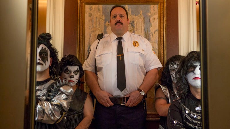 Illustration for article titled Weekend Box Office: Great, so now we have Paul Blart 3 to look forward to