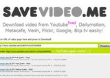 Illustration for article titled Savevideo.me Downloads Video From YouTube, Dailymotion, Metacafe, and More