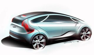 Illustration for article titled Hyundai HED-5 Concept